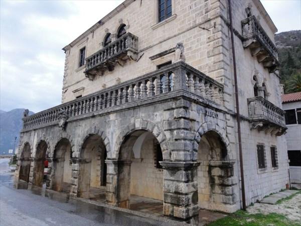 Музей во дворце рода Буйовичей.