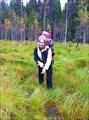 Оля всегда рада болотам!