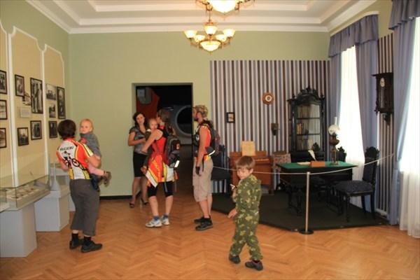 В музее Циолковского