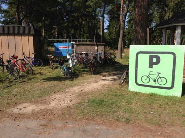 Специальная парковка для велосов