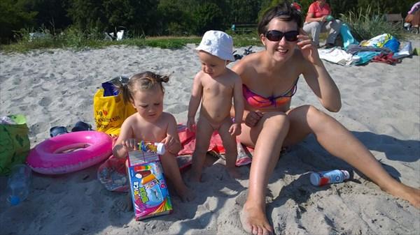 Наша туса на пляже