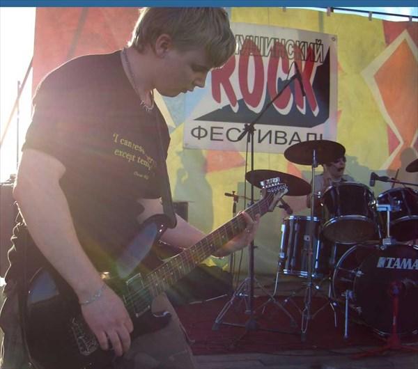 Соло на гитаре