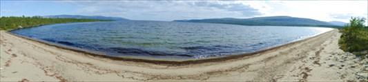 Вид на залив Чудалухт