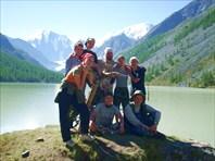 Все вместе на озере Маашей