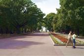 Городской сад имени Шевченко