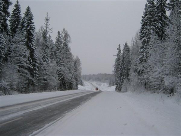 Трасса на Вологду
