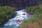 Заход в каньон реки Джоанарык