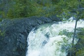 Нижняя ступень водопада