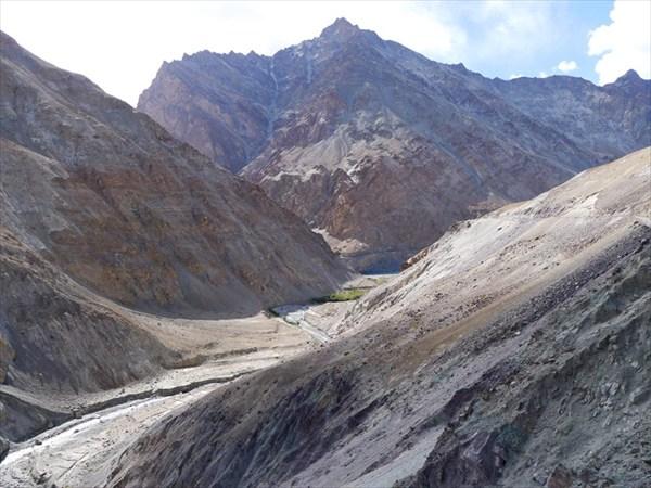 Выход из долины Маркхи к реке Занскар
