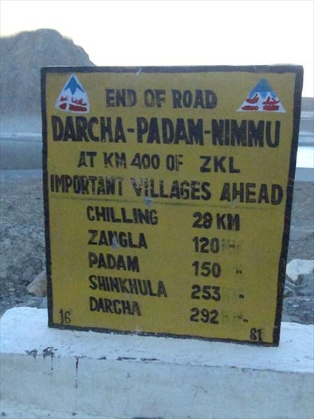 Расстояния вдоль ещё не построенной дороги