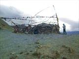 На седловине перевала Гандха Ла, 4977 м