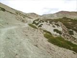 Седловина перевала Гандха Ла с запада