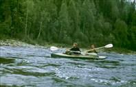 Река Онега. Архангельская обл. 1985 год