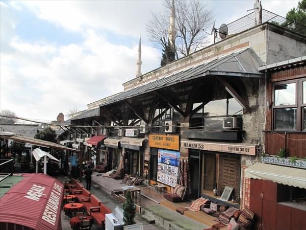 рынок возле мечети Султанахмет