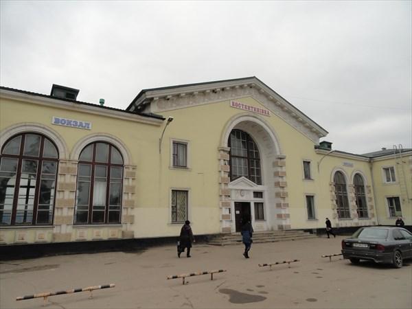Константиновский вокзал стал крупным транспортным узлом
