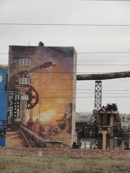 Донбасские граффити