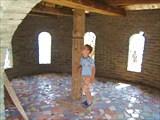 Зала наверху форта
