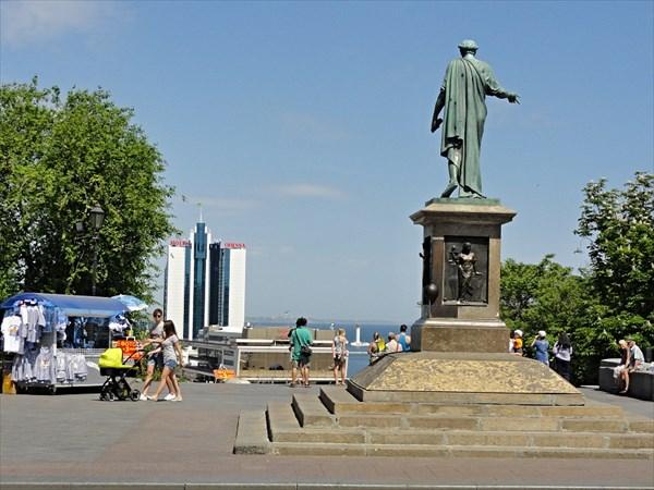 Памятник Дюку Ришелье