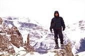 Перевал Sentinel. Национальный парк Банф. Скалистые горы. Канада
