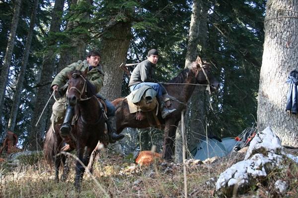 абхазские охотники