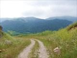 Спуск с первого перевала