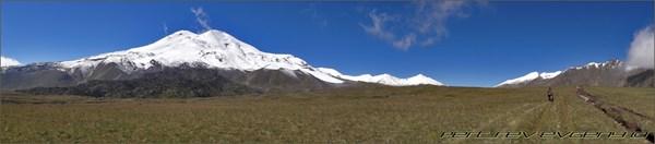 Эльбрус панорама