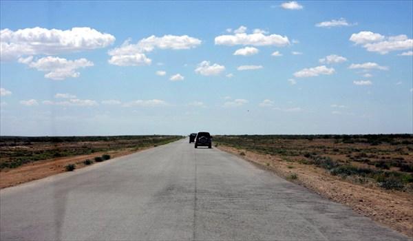 Дорога через Бетпак-Далу