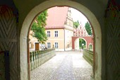 Вид из арки
