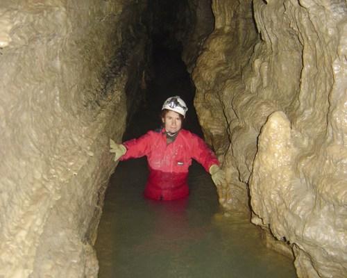 А сказали в Schoharie Cavern воды в Июле нет :-)