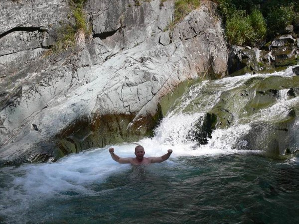 Водопады реки Текелюшка