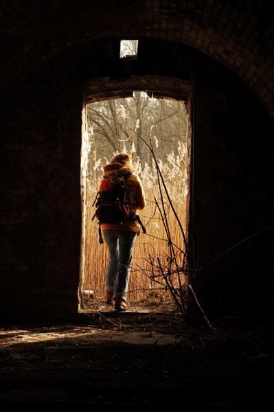 Внутри форта Гнайзенау