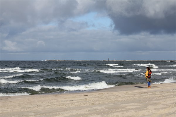 Прощание с Балтийским морем