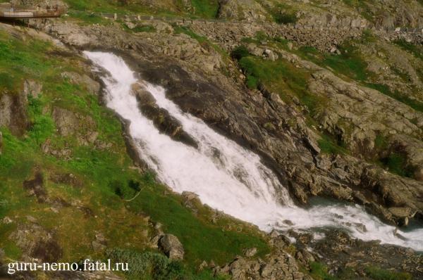 Водопад Trollstigen