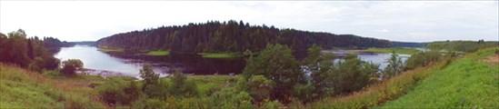 Панорама Онеги с Маркомус
