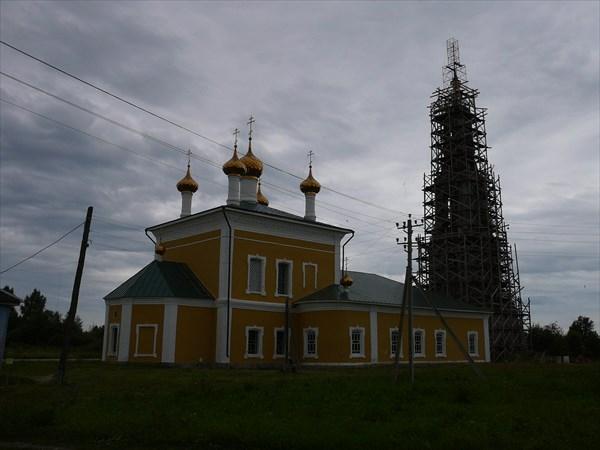 Церковь Илии Пророка, 1787г. в пос Ильинское