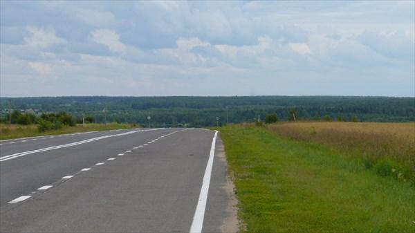 По дороге к Борисоглебскому