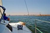На входе в бухту г.Александрия