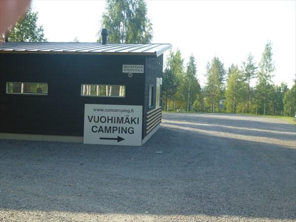 Кемпинг в окрестностях Savonlinna
