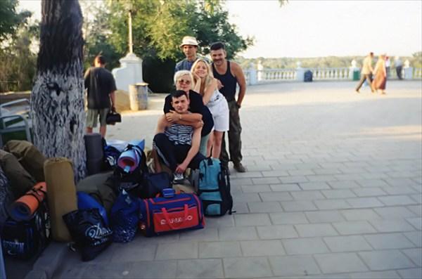 Оренбург. Площадь Чкалова на берегу Урала.