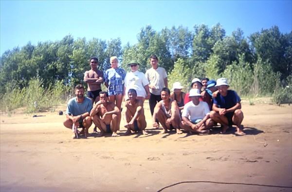 С казахскими рыбаками