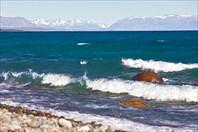 Лазурь и мрамор озера Буэнос Айрес - Хенераль Каррера