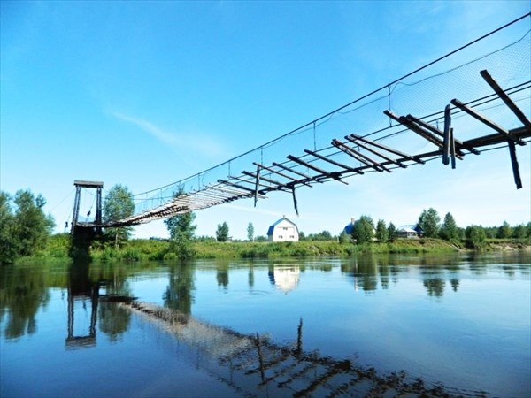 Мост для экстремалов.