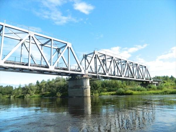 Мост через Лозьву у Першина.