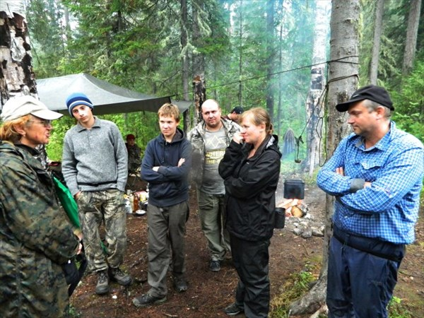 В лагере москвичей из Стрима.
