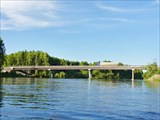 Мост через Лозьву, магистраль.