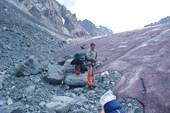 Капчальский ледник.