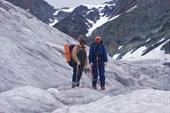 Ледник Геблера. Два друга.