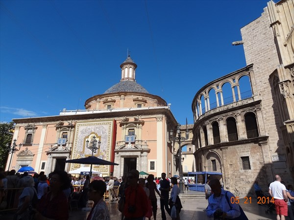 Базилика Святой Девы.
