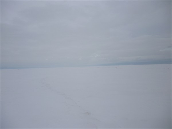 Тропинка на снегу. 2013-03-16-08:02:45