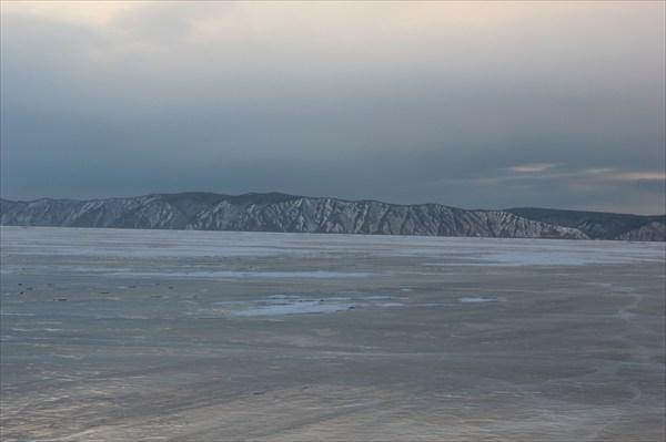 По такому бы льду да попутный ветер!  2013-03-16-18:29:43